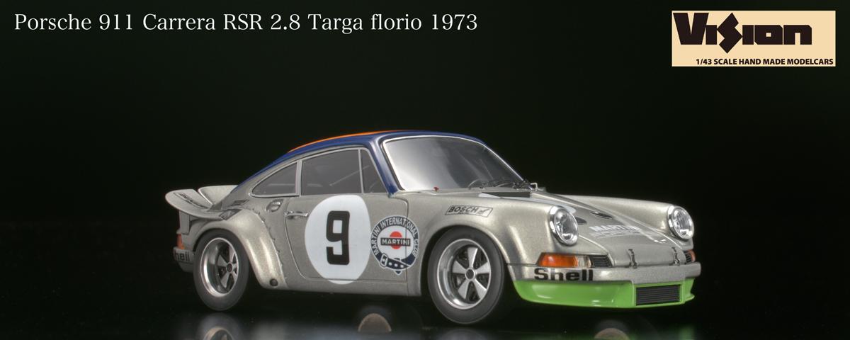 Porsche 911 Carrerra Rsr 3 Rd Targa Florio 1973 Vm085b