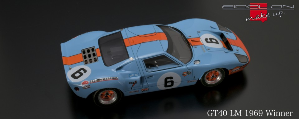 Ford GT 40, Nr. 6 winner Le Mans 1969 EM290A / B | CAREN ...